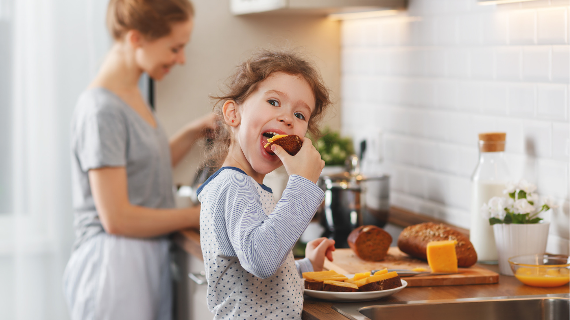 Healthy lunch and snack ideas for busy mums with little kids