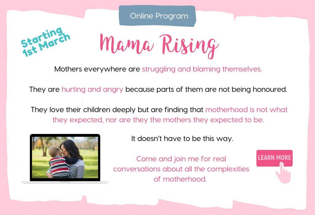 www.moretomum.com.au mama rising