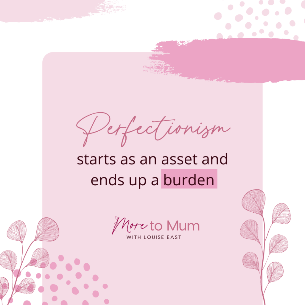 www.moretomum.com.au overcoming perfectionism